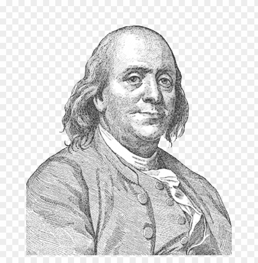 Download benjamin franklin face sideview png images background@toppng.com