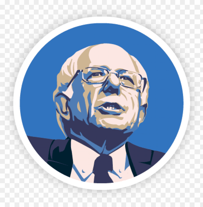 free PNG bernie sanders or hillary clinton a quiz to help you - bernie sanders outline PNG image with transparent background PNG images transparent