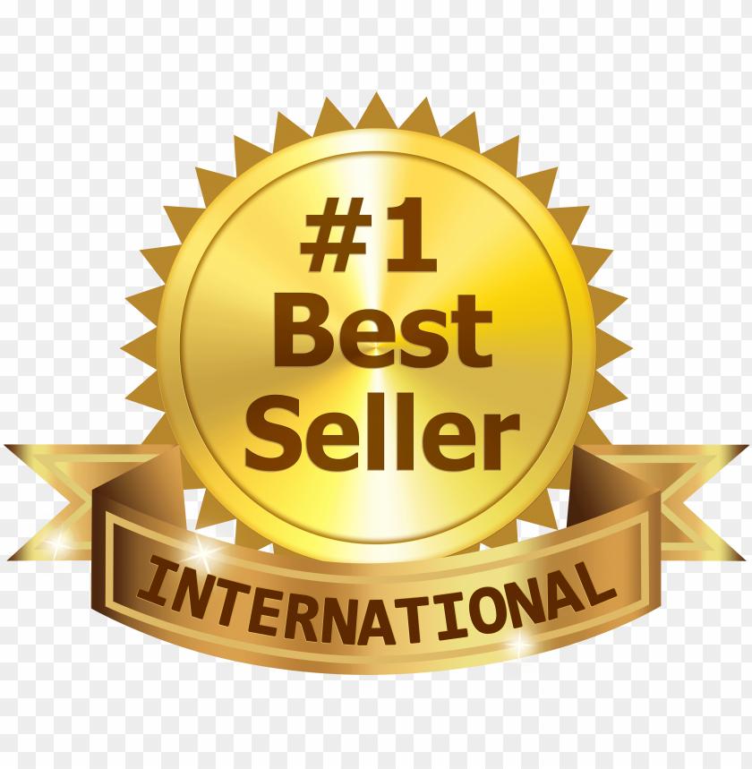 free PNG best 1 international best seller ribbon - international best seller PNG image with transparent background PNG images transparent