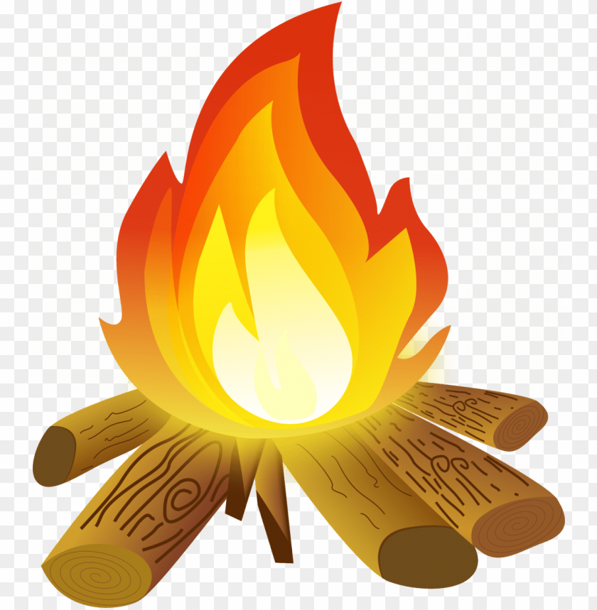 free PNG best free campfire hd camp fire clipart pictures drawing - camp fire clipart PNG image with transparent background PNG images transparent