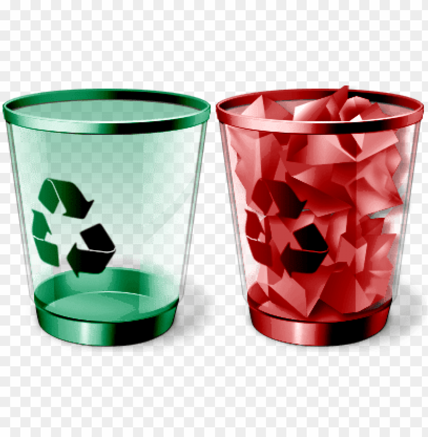 free PNG best free recycle bin icon- red recycle bin icon png - Free PNG Images PNG images transparent