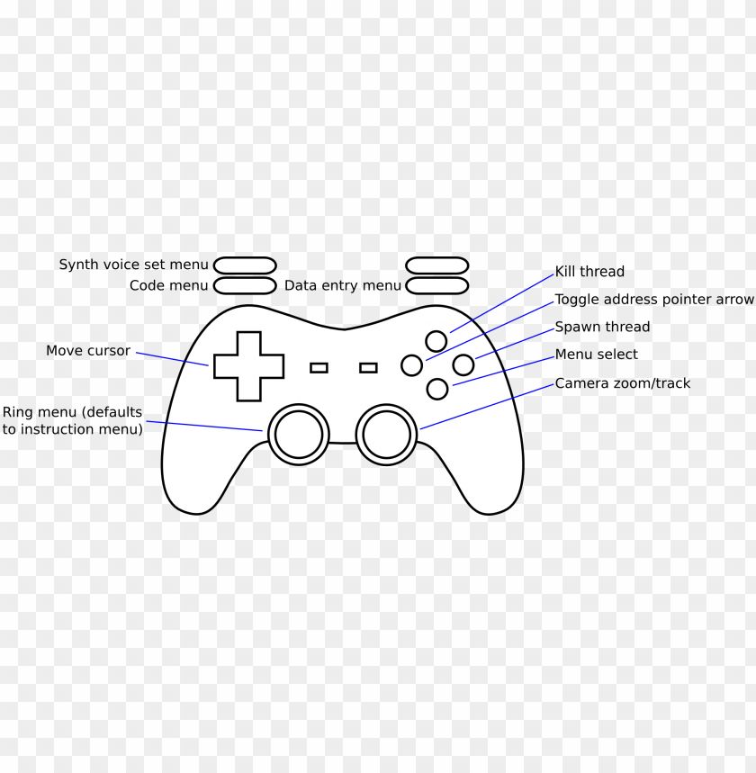 free PNG betablockermap - game controller PNG image with transparent background PNG images transparent