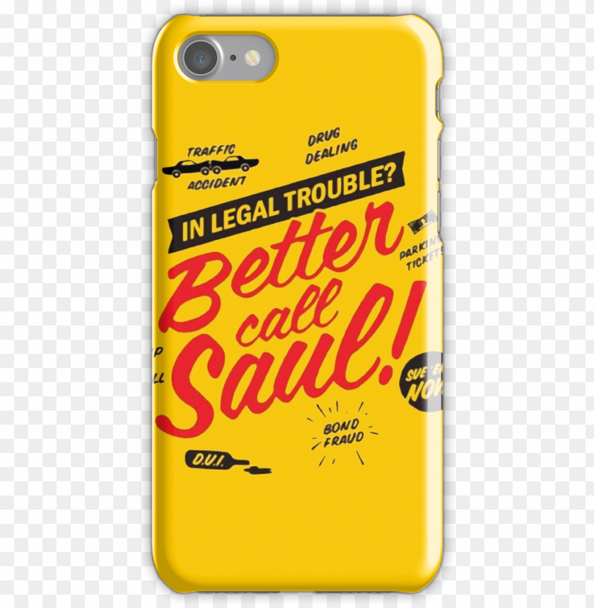 free PNG better call saul iphone 7 snap case - better call saul iphone PNG image with transparent background PNG images transparent