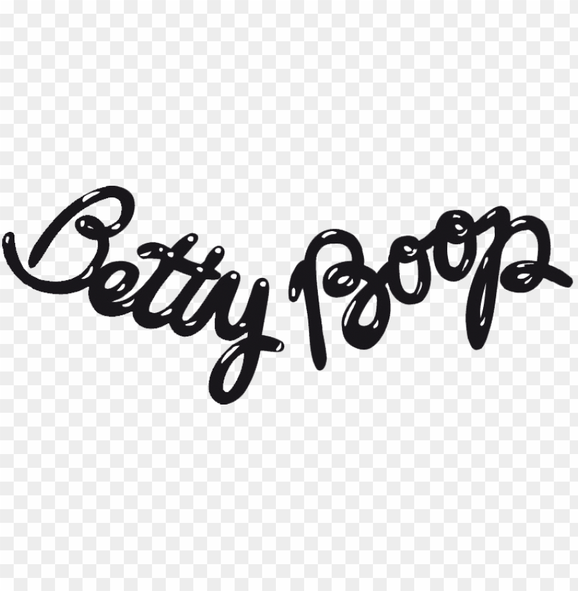 free PNG betty boop - betty boop logo PNG image with transparent background PNG images transparent