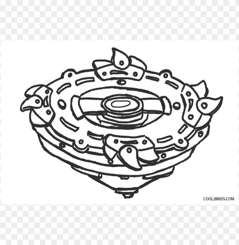 Beyblade Coloring Pages Color Png Image