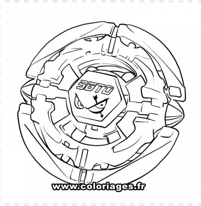 Beyblade Coloring Pages Color Png Image With Transparent