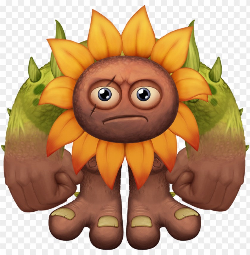 free PNG bf flowah adult - msm flowah my singing monsters files PNG image with transparent background PNG images transparent