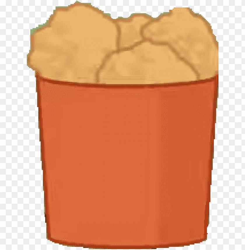 free PNG bfb chicken bucket body - bfdi chicken bucket PNG image with transparent background PNG images transparent