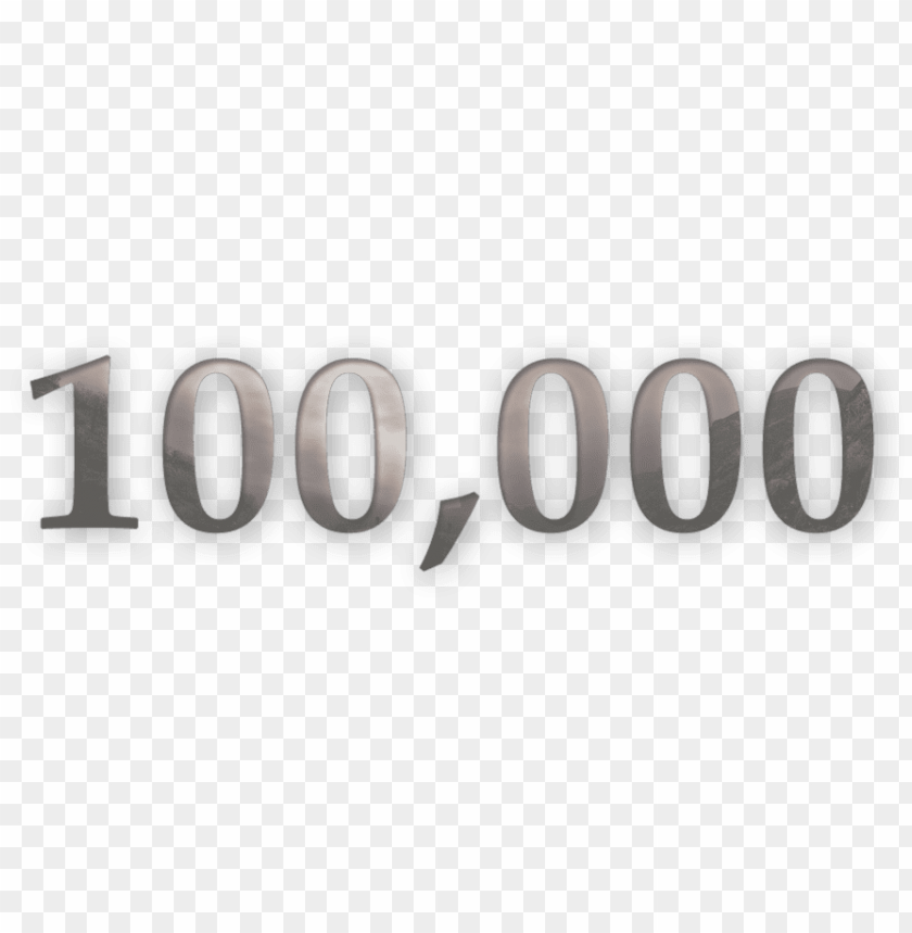 free PNG big big big thank u again - 100k views PNG image with transparent background PNG images transparent