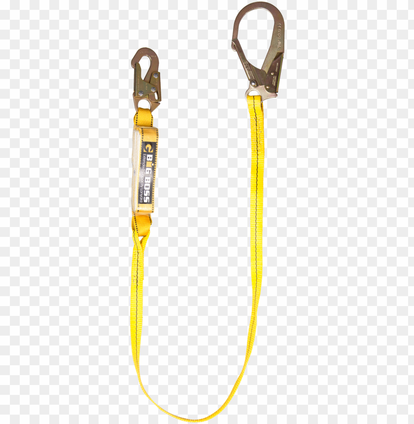 free PNG big boss lanyard 6′ sngle leg w/snap rebar hooks extrn - arc safety grou PNG image with transparent background PNG images transparent