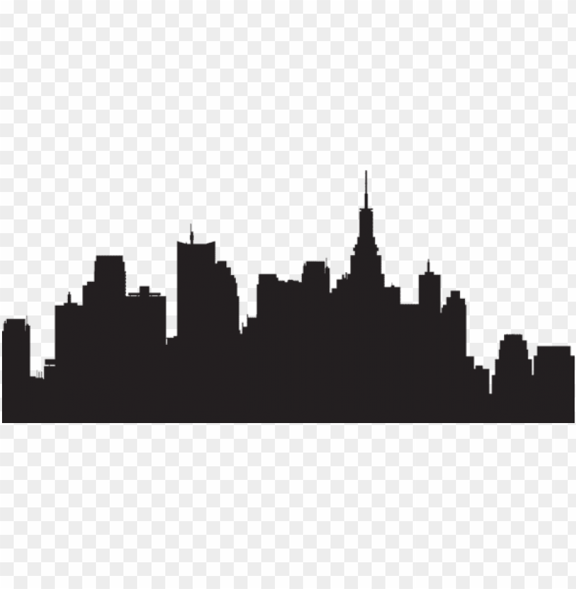 free PNG big city silhouette png png - Free PNG Images PNG images transparent