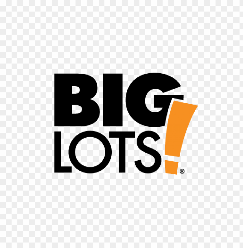 free PNG big lots vector logo (.eps + .ai) download for free PNG images transparent