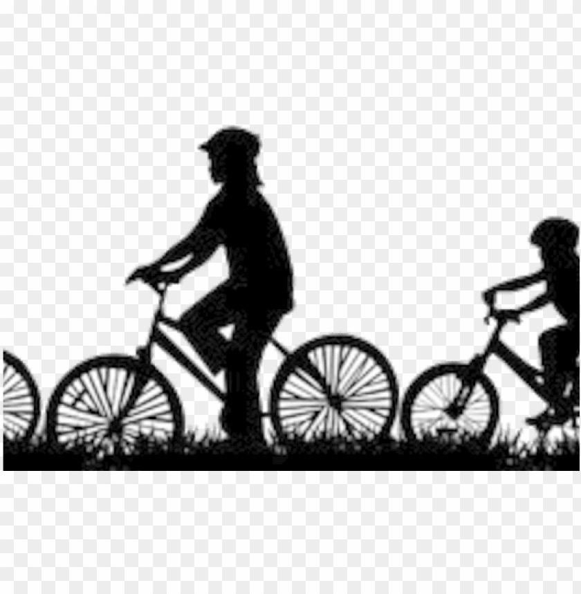 Bike Family Silhouette Png Image With Transparent Background Toppng