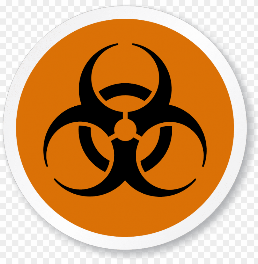 free PNG biohazard symbol iso circle sign - biohazard symbol PNG image with transparent background PNG images transparent