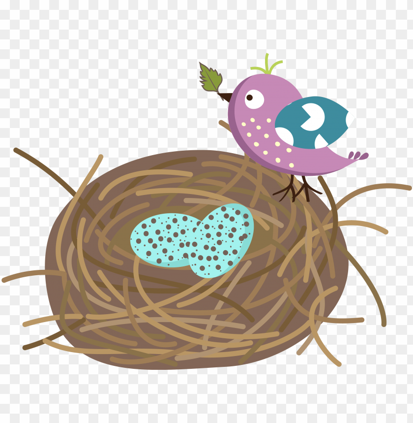 free PNG bird nest cartoon PNG image with transparent background PNG images transparent