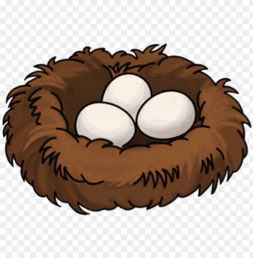 free PNG bird nest - cartoon birds nest PNG image with transparent background PNG images transparent
