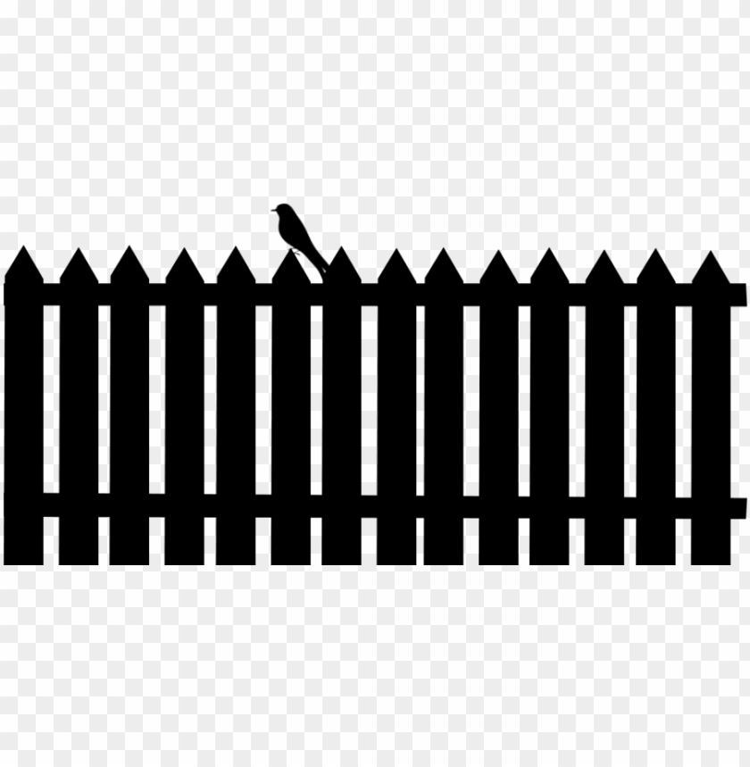 free PNG bird on a fence silhouette by viktoria Ⓒ - bird on fence silhouette PNG image with transparent background PNG images transparent