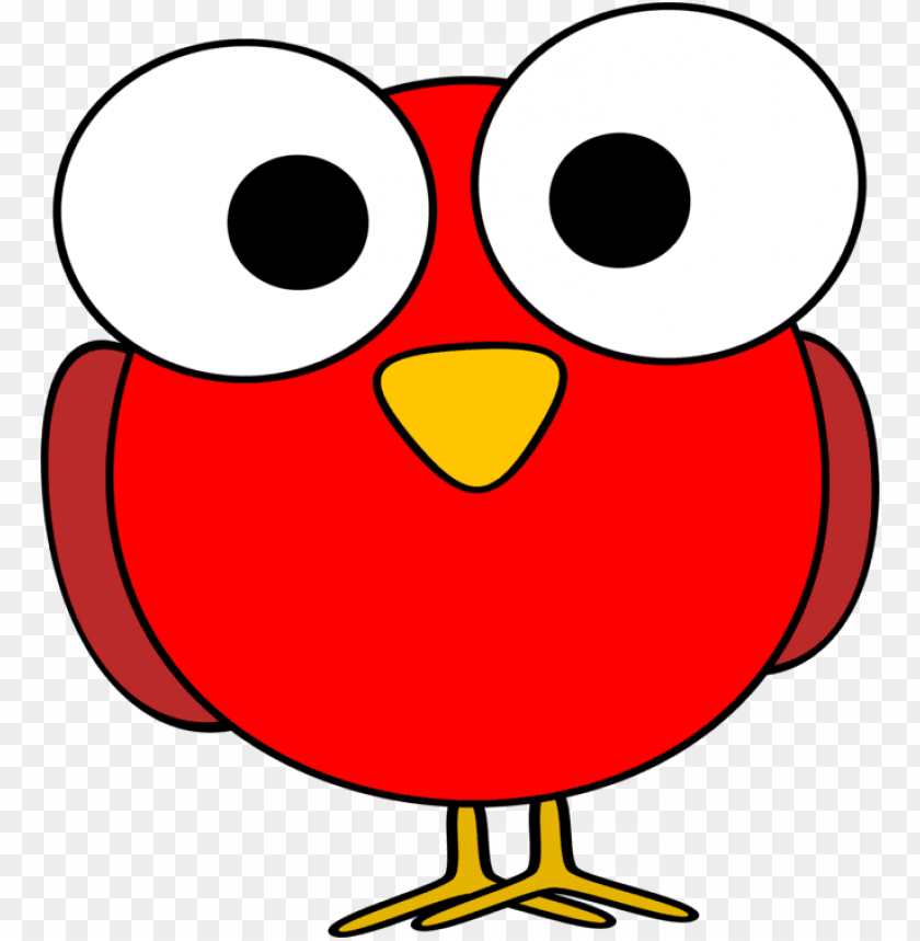 free PNG bird owl eye animal silhouettes youtube - red cartoon bird PNG image with transparent background PNG images transparent