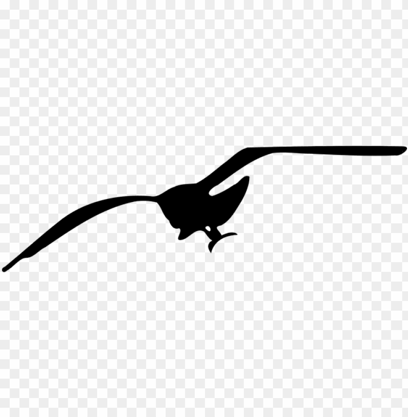 free PNG bird seagull silhouette fly flying seagull - seagull clip art PNG image with transparent background PNG images transparent