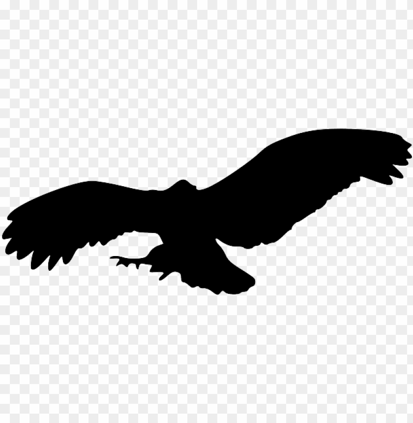 free PNG bird silhouette eagle png - owl flying silhouette PNG image with transparent background PNG images transparent