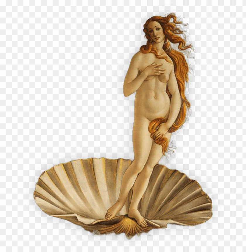 free PNG birth of venus PNG image with transparent background PNG images transparent