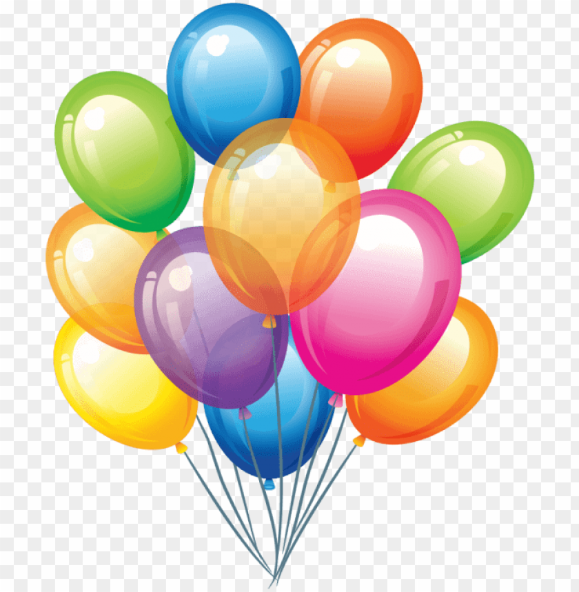 free PNG birthday balloon vector PNG image with transparent background PNG images transparent