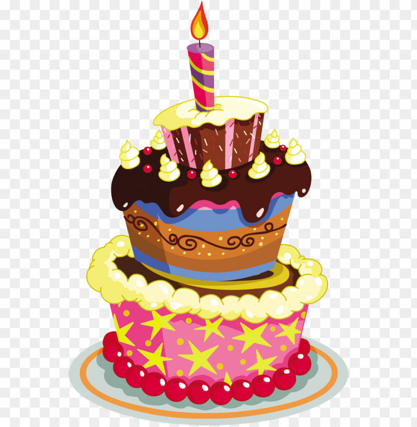 Birthday Cake Png Cake Happy Birthday Vector Png Image With Transparent Background Toppng