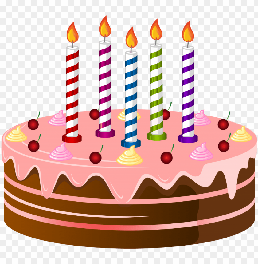free PNG birthday cake png clip art image - birthday cake clip art PNG image with transparent background PNG images transparent