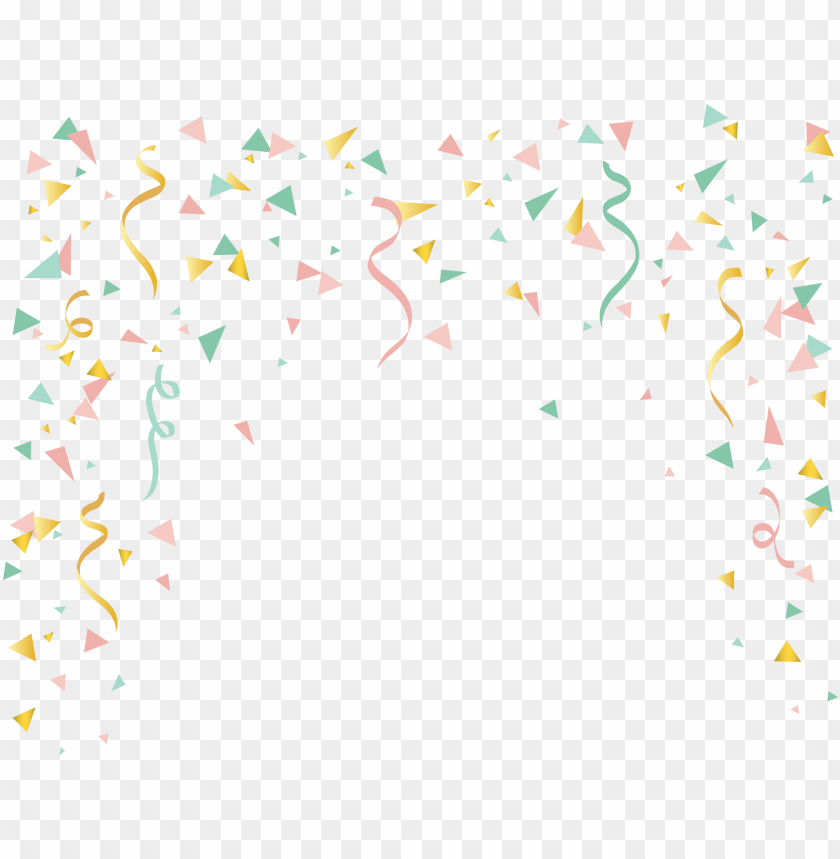 free PNG birthday confetti - fondos de confeti PNG image with transparent background PNG images transparent
