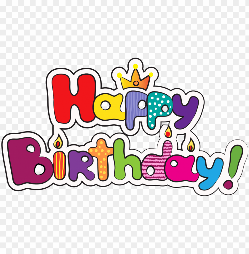 Birthday Emoji Facebook Copy Paste Happy Birthday Logo Png Image With Transparent Background Toppng