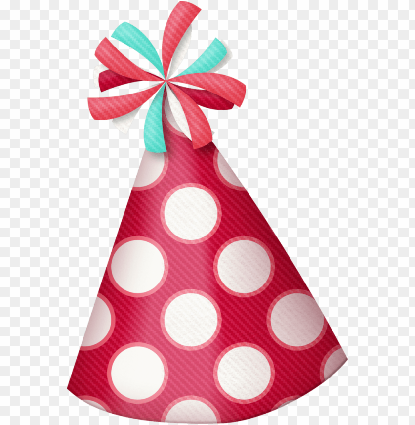 free PNG birthday hat clipart polka dot party hat - blue birthday hat PNG image with transparent background PNG images transparent