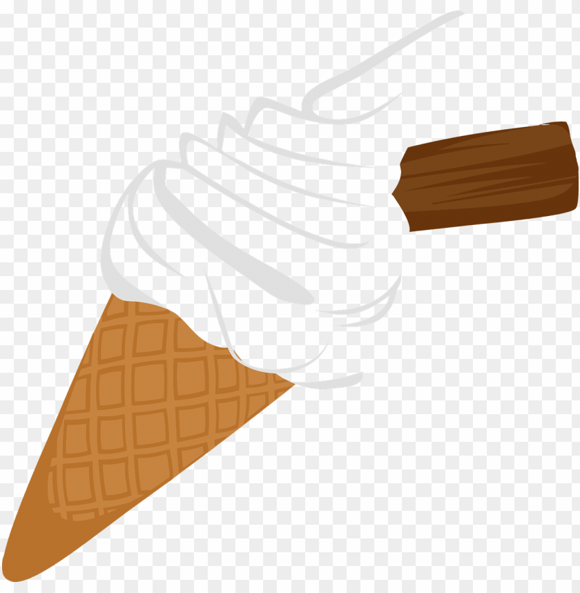free PNG biscuit chocolate cone - ice cream cone clip art . PNG image with transparent background PNG images transparent