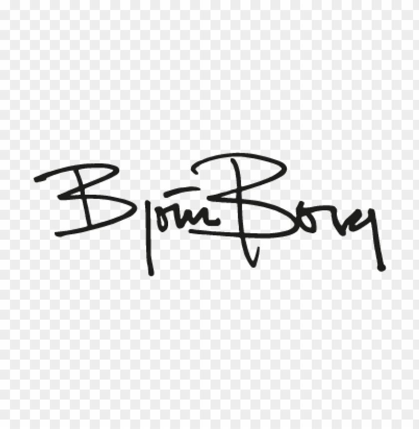 free PNG bjorn borg vector logo PNG images transparent