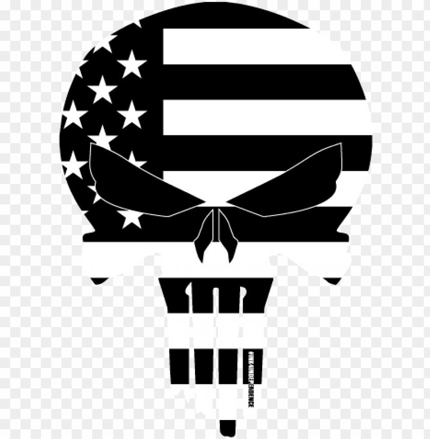 Black And White American Flag Black And White American Flag