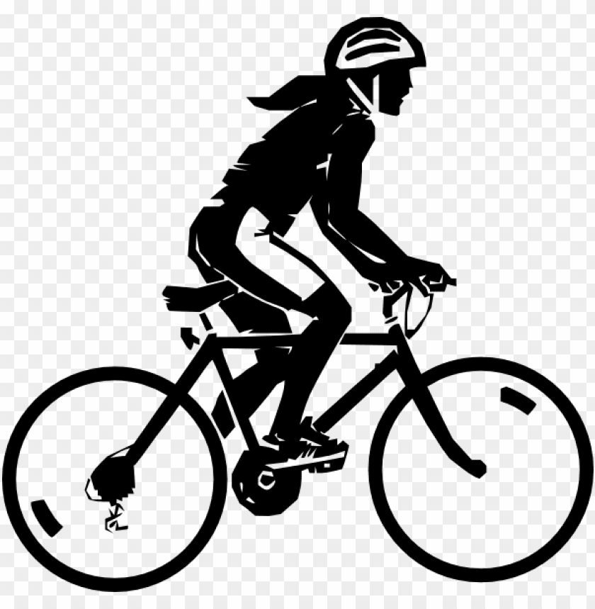 free PNG black and white bike riding PNG image with transparent background PNG images transparent