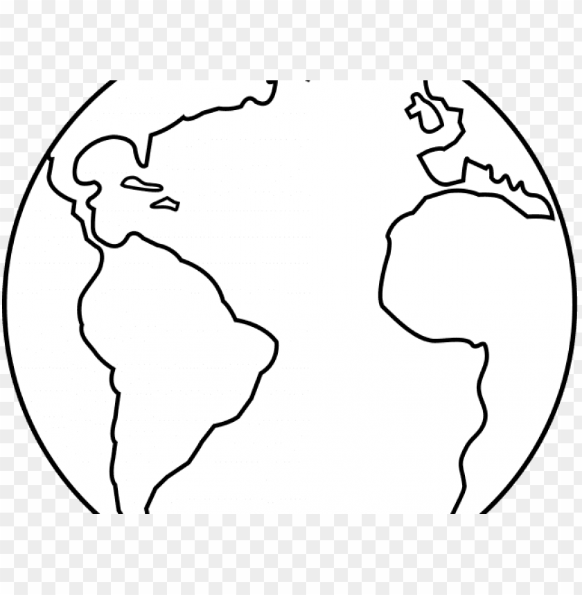 free PNG black and white earth - planet earth black and white PNG image with transparent background PNG images transparent