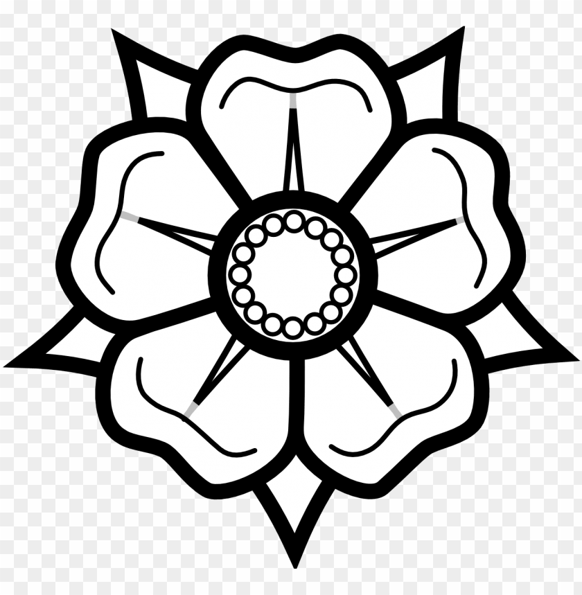 Black And White Flower Drawing Png Easy Cute Flower Drawings Png Image With Transparent Background Toppng