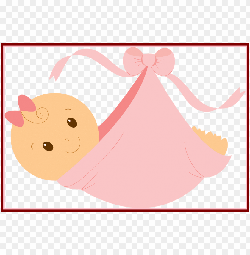 free PNG black and white library astonishing baby girl clip - baby shower girl PNG image with transparent background PNG images transparent