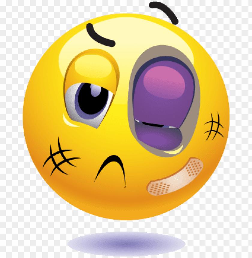 free PNG black and white library black eye emoji - beaten up emoji PNG image with transparent background PNG images transparent