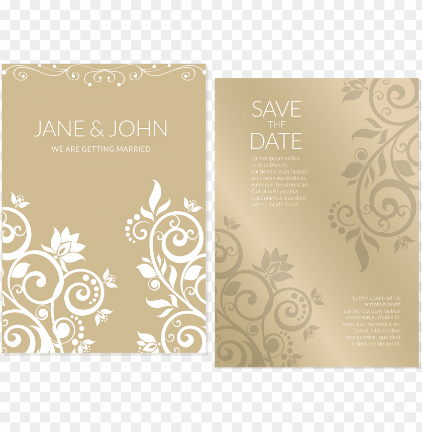 free PNG black and white library wedding marriage flower - invitation flower gold design PNG image with transparent background PNG images transparent