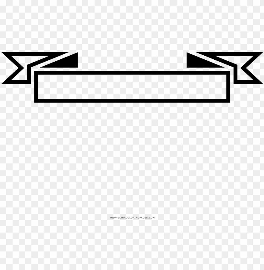 Black And White Ribbon Banner Png Image With Transparent Background Toppng