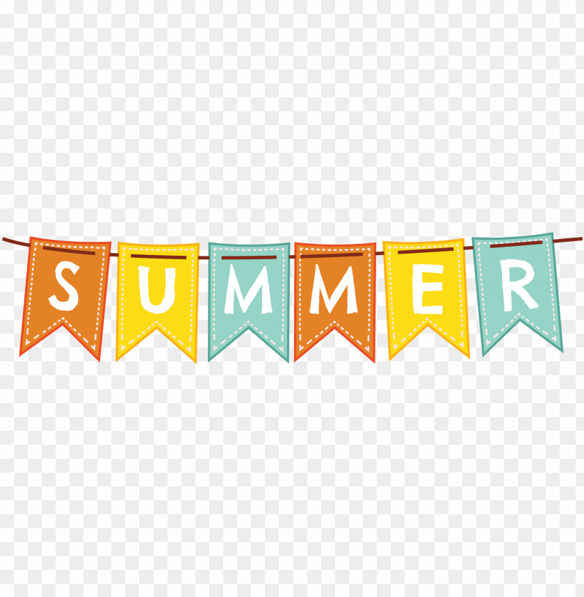 free PNG black and white stock summer transparent banner - summer banner PNG image with transparent background PNG images transparent