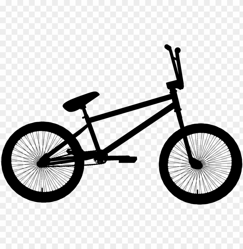 Black Bmx Bicycle Clipart Png Bmx Bikes Png Image With Transparent Background Toppng