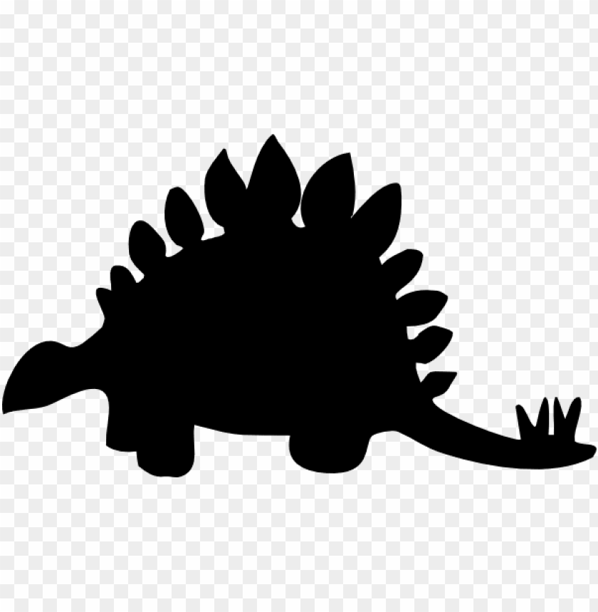 free PNG black clip art at clip art freeuse download - stegosaurus black and white PNG image with transparent background PNG images transparent
