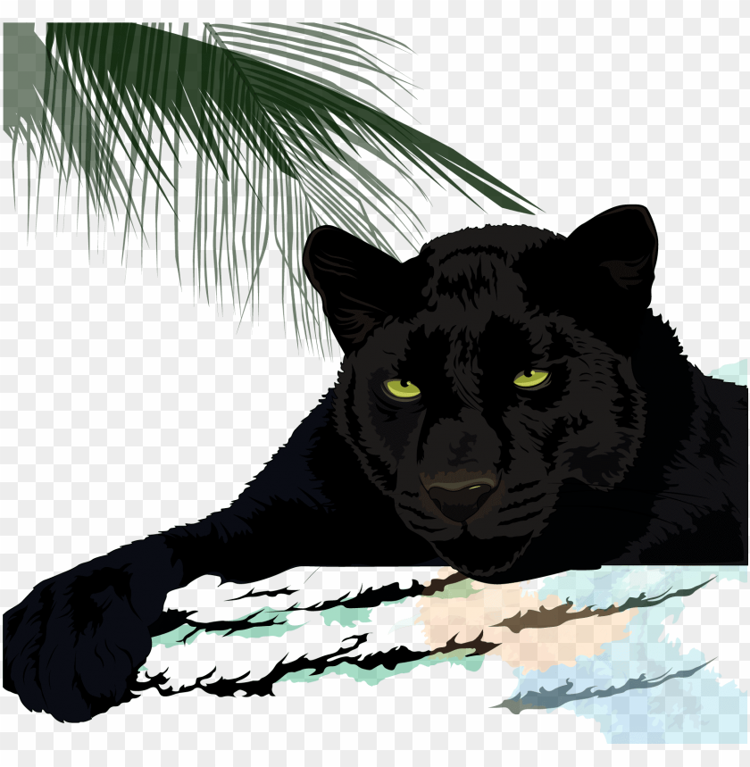 free PNG black cougar leopard jaguar - jaguar puma black panther panther PNG image with transparent background PNG images transparent