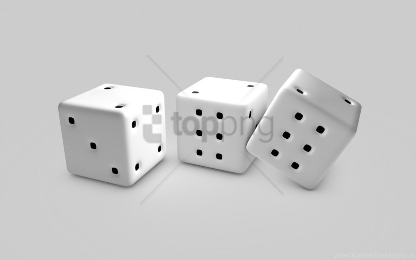 free PNG black, cubes, dice, game, points, white wallpaper background best stock photos PNG images transparent