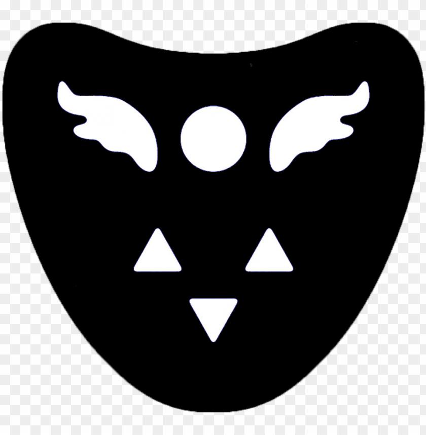 free PNG black delta rune symbol by smolldoostr on - deltarune symbol PNG image with transparent background PNG images transparent
