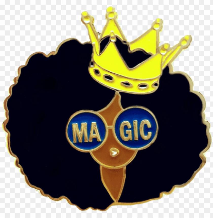 free PNG black girl magic png - black girl enamel pi PNG image with transparent background PNG images transparent
