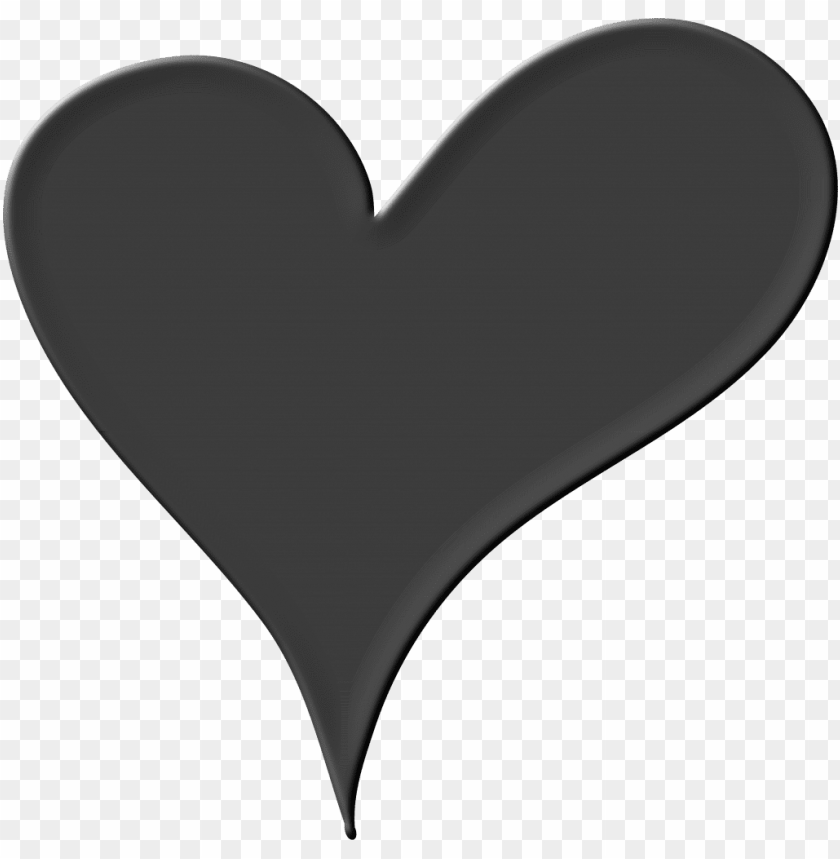free PNG black heart png pic - heart png black and white PNG image with transparent background PNG images transparent