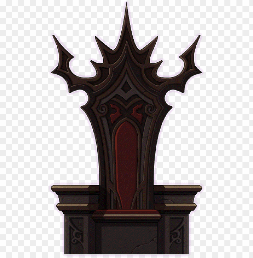 Evil Throne Chair Png Image With